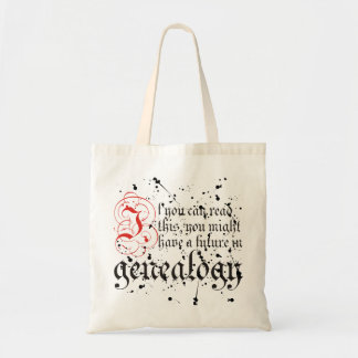 If You Can Read This Budget Tote Bag
