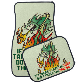If You Can't Take The Heat Floor Mat