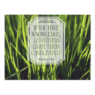 If You Have Knowledge Postcard