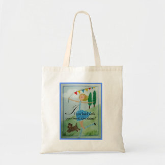 If you lead with your heart tote bag