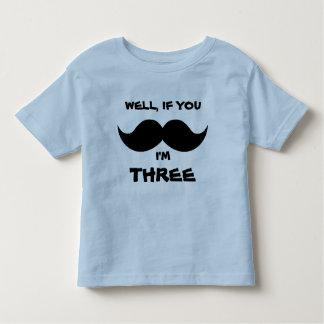 If you MOUSTACHE, I'm FOUR, Fun Toddler AGE shirt