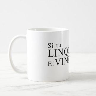 If you quit, they win basic white mug