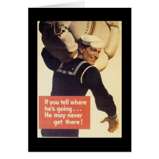 If You Tell World War 2 Card