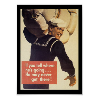 If You Tell World War 2 Poster