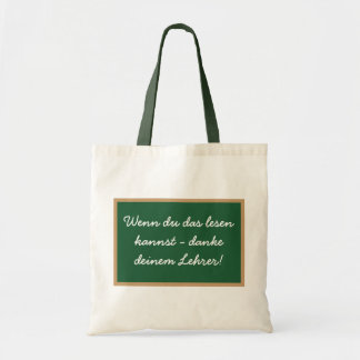 If you that to read can - thanks your teacher! tote bag