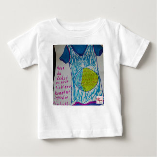 If you think…. a light flax burn baby T-Shirt