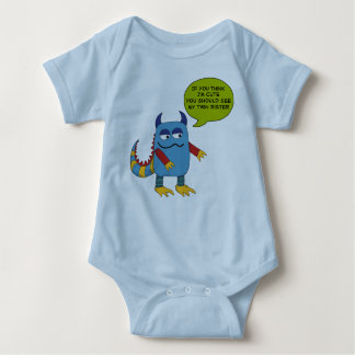 If You Think I'm Cute... Baby Bodysuit