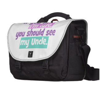 If you think Im Cute - Uncle Commuter Bag