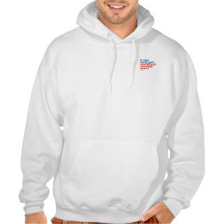 IF YOU VOTE LEFT YOU'RE NOT THINKING RIGHT HOODED SWEATSHIRT