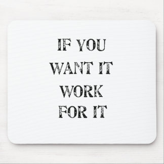 if you want it work for it mouse pad