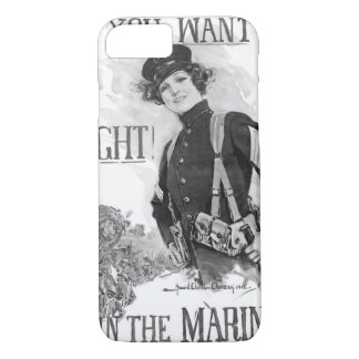 If You Want To Fight! Join The Marines_War Image iPhone 8/7 Case
