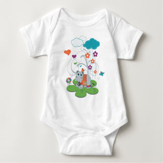 If You're Hippy & You Know It! Baby Hippo Bodysuit