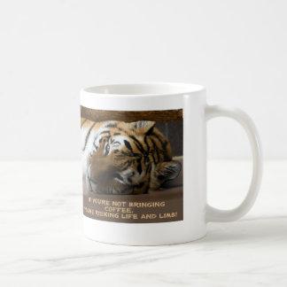 If you're not bringing coffee... coffee mug
