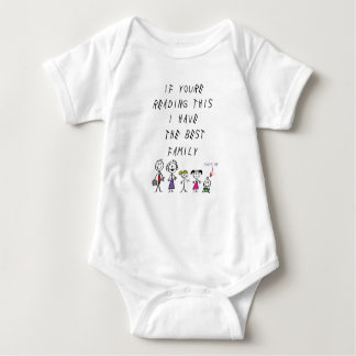 If you're reading this...best Family Baby Bodysuit
