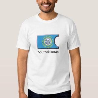 iFlag South Dakota 1 Tees