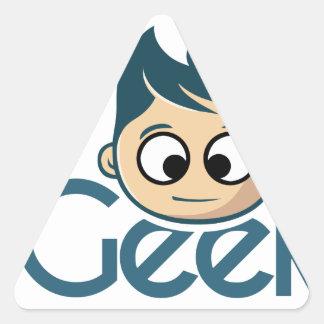 igeek triangle sticker