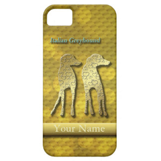 Iggy standW gold for iphone5 Barely There iPhone 5 Case