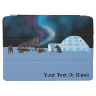 Igloo and Northern Lights iPad Air Cover