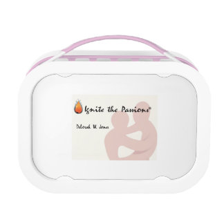 Ignite the Passions Yubo Lunchbox, Pink Lunch Box