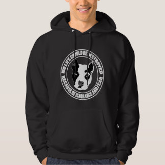 Ignorance and Fear Destroys Life Hoodie
