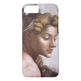 Ignudi female Fresco Sistine Chapel by Buonarroti iPhone 8/7 Case