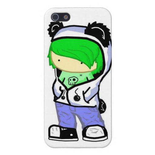 iGr33n chibi Covers For iPhone 5