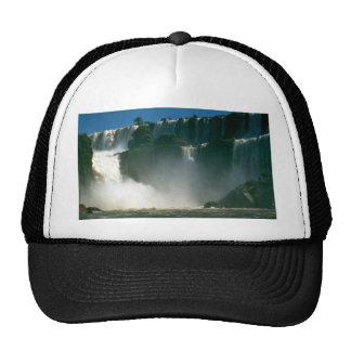 Iguacu Falls from below, Iguacu River, Argentina Trucker Hats
