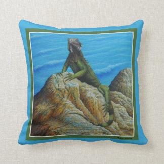 Iguana Cushion