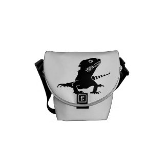 Iguana Messenger Bag