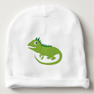 Iguana - Rainforest Newborn Hat Baby Beanie