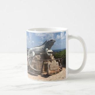 Iguana Sculpture Isla Mujeres, Mexico Mug