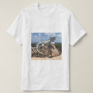 Iguana Sculpture Isla Mujeres, Mexico T-shirt