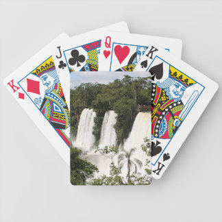 Iguazu Falls, Argentina, South America Bicycle Playing Cards