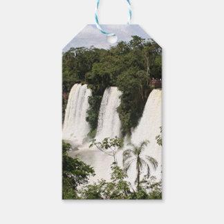 Iguazu Falls, Argentina, South America Gift Tags