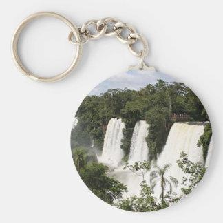 Iguazu Falls, Argentina, South America Key Ring