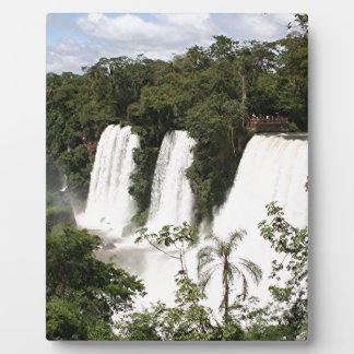 Iguazu Falls, Argentina, South America Plaque