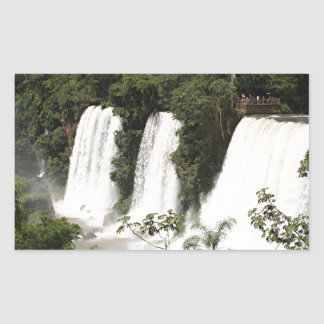 Iguazu Falls, Argentina, South America Rectangular Sticker