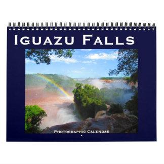 iguazu falls calendars