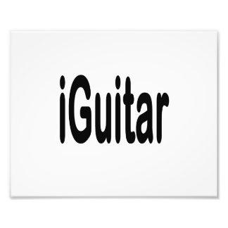 iguitar music musician black text photographic print