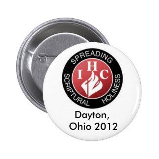 IHC, Dayton, Ohio 2015 6 Cm Round Badge
