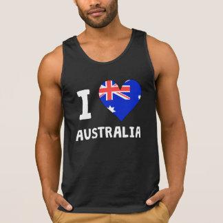 IHeartWI Heart Australia Singlet