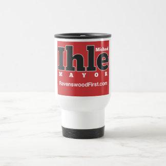 Ihle for Mayor Travel Mug