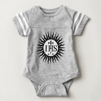IHS Jesus sun Baby Bodysuit