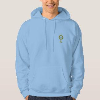 IHS Monstrance Hooded Sweater Sweatshirts