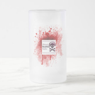 II Girls, I Cup Frosted Glass Mug