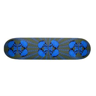 III Butterfly Skulls Skateboard Deck