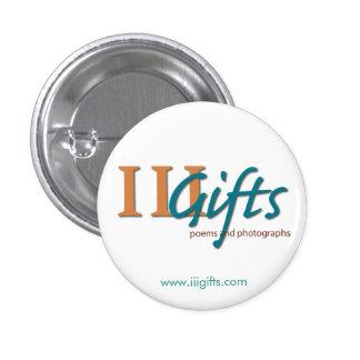 III Gifts Logo Pin Small