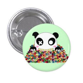 Ijimekko the Panda - Sugar Skulls 3 Cm Round Badge