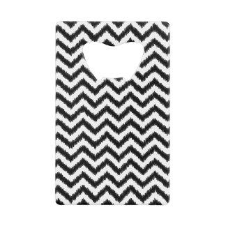 Ikat Chevron Black Pattern Zigzag