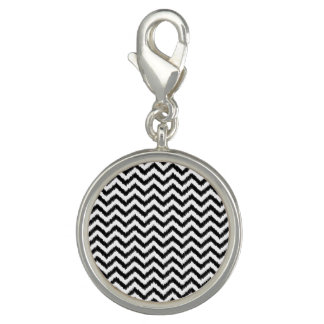 Ikat Chevron Black Pattern Zigzag